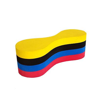 Pull Buoy Flotador para Natación 4 Capas de Goma Eva