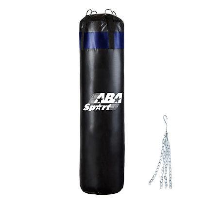 Bolsa de Boxeo de 120cm Con Relleno y Cadenas ABA Sport