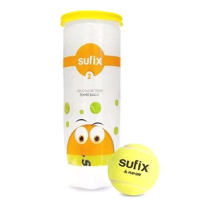 Pelota de Tenis Sufix Sixzero Nivel Naranja Inicial