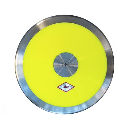 Disco de Lanzamiento para Atletismo de 2kg