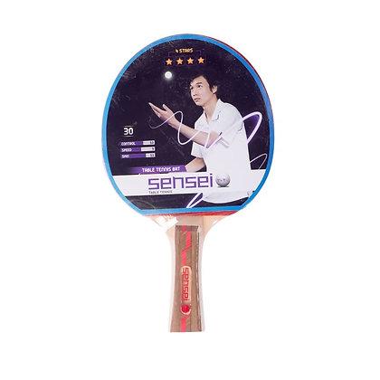Paleta De Ping Pong Tenis De Mesa Sensei 4 Estrellas