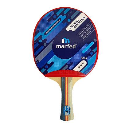 Paleta de Ping Pong Tenis de Mesa Marfed 3 Estrellas