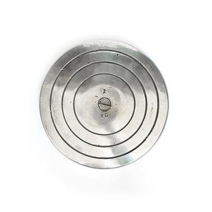 Disco de Lanzamiento Atletismo de Aluminio 2kg