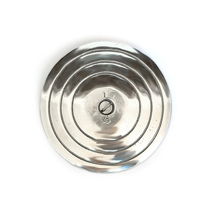 Disco de Lanzamiento Atletismo de Aluminio 1kg
