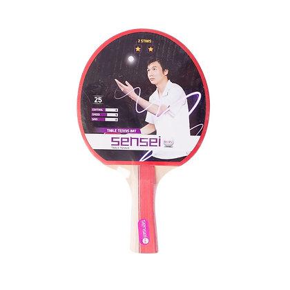 Paleta De Ping Pong Tenis De Mesa Sensei 2 Estrellas