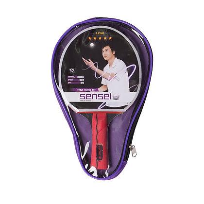 Paleta De Ping Pong Tenis De Mesa Sensei 5 Estrellas