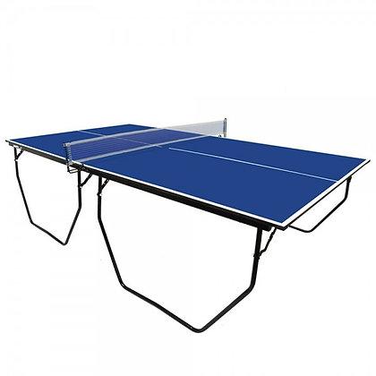 Mesa de Ping Pong Plegable y Trasladable con Soporte y Red