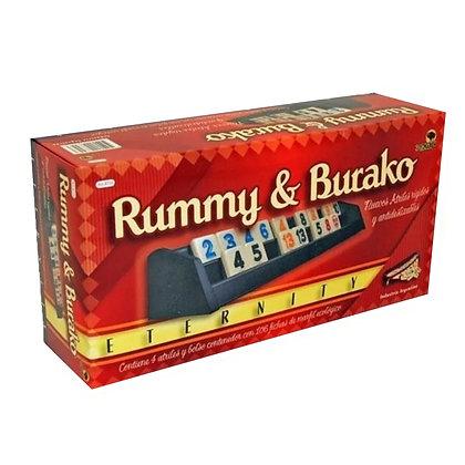 Rummy y Burako Juego de Mesa 2 en 1 Bisonte Eternity