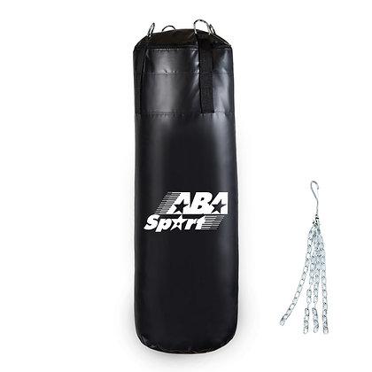 Bolsa de Boxeo de 90cm Con Relleno y Cadenas ABA Sport