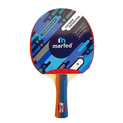 Paleta de Ping Pong Tenis de Mesa Marfed 1 Estrella