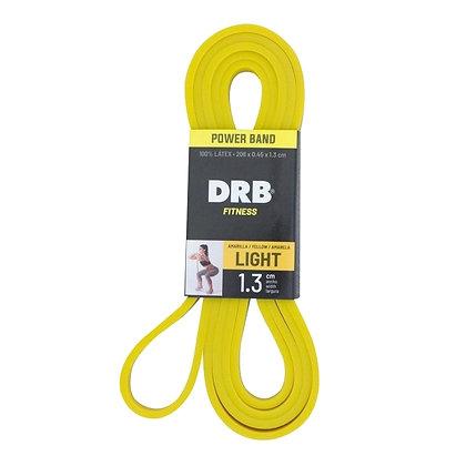 Banda Power Band 1.3cm Light de Látex DRB Fitness