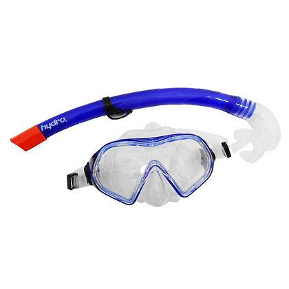 Set Máscara con Snorkel de Adulto Para Buceo Hydro