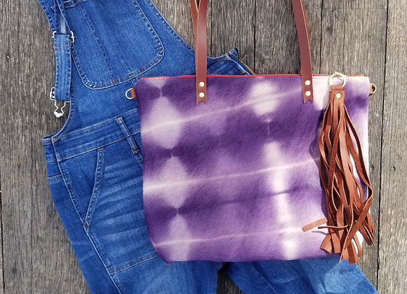 Wholesale The Wynkoop - Shibori Violet with Brown