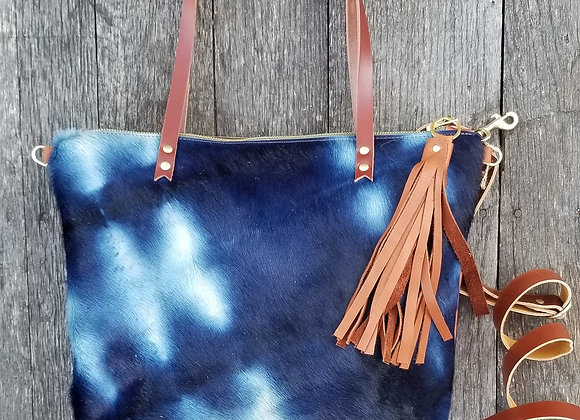 Wholesale The Wynkoop - Shibori Indigo with Brown
