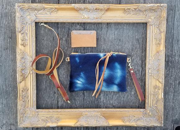 Curated set- Indigo shibori