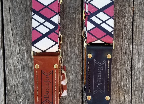 Fancy strap - Raspberry Mondrian