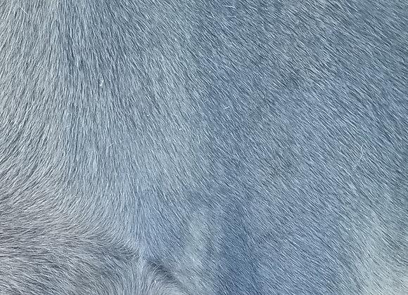 BuxieJo Sandal - Deep Cobalt Green hair on hide