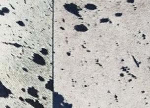 BuxieJo Sandal - White and Indigo Acid Wash