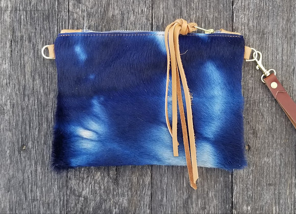 Wholesale The Stout - Shibori Indigo and Tan