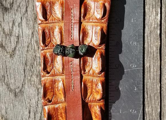 Nile Croc cuff