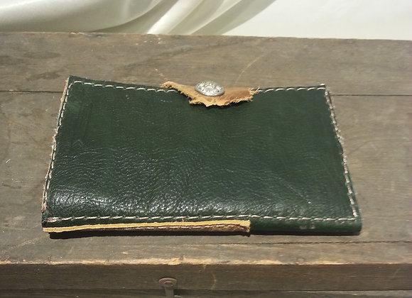 Green and Brown wallet
