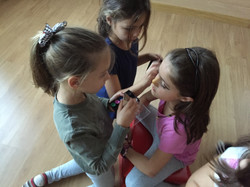 maquillaje en teatro creativo