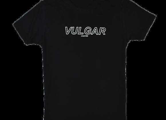 Essential Vulgar Tee Blk