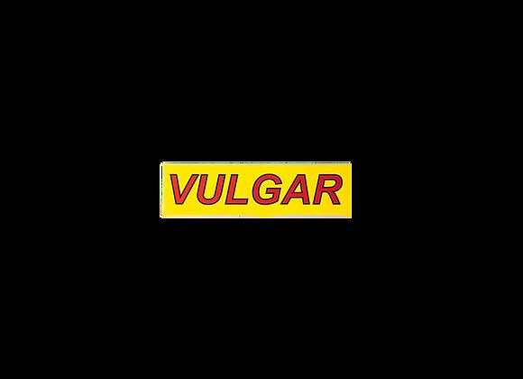 Vulgar Font Sticker