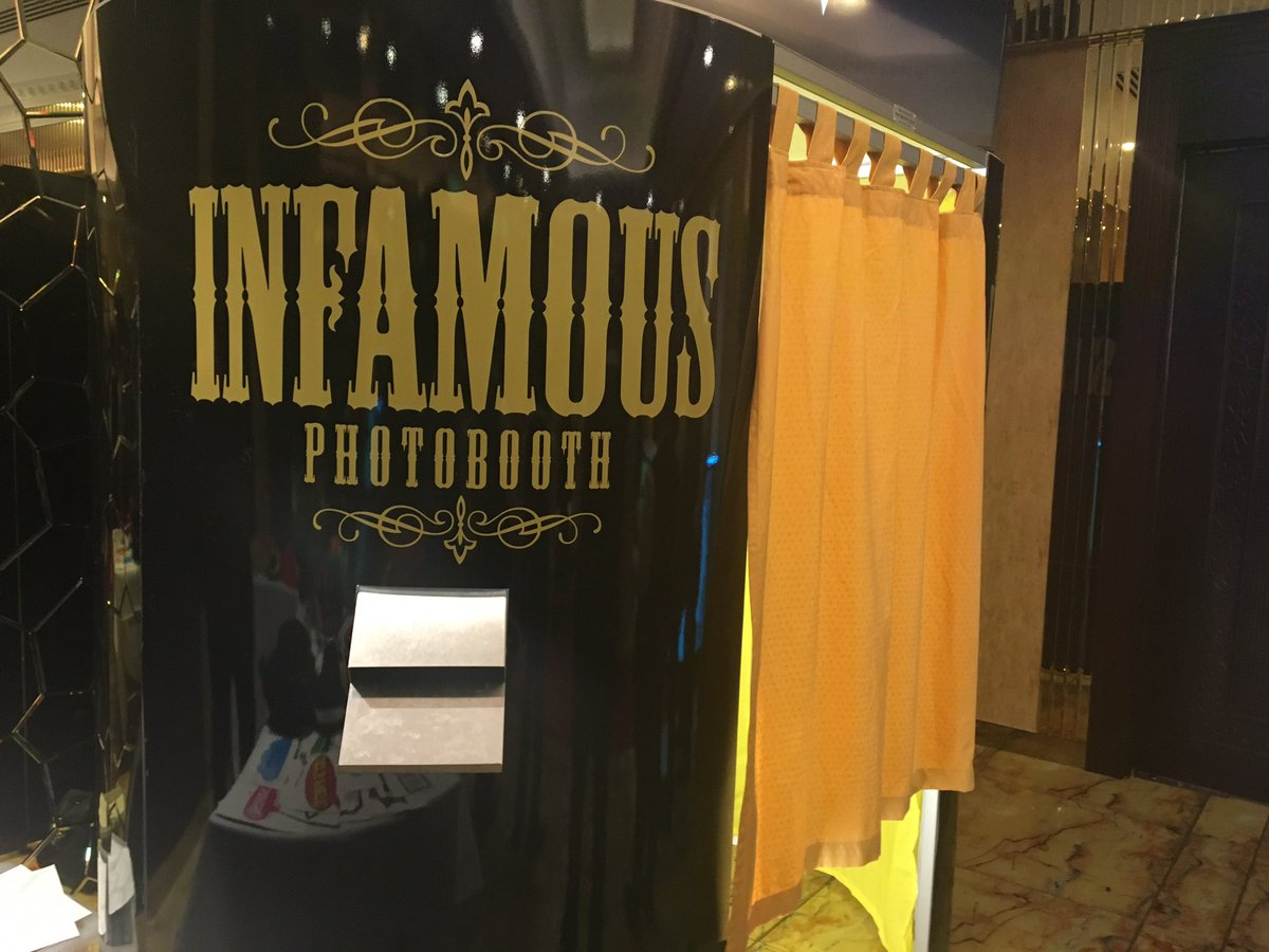Infamous Photo Booth