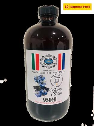 100% Pure Black Seed Oil 950ml