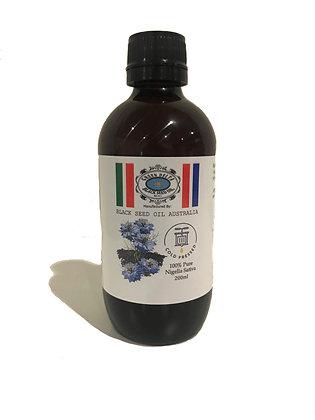 100% Pure Black Seed Oil 200ml