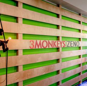 3 Monkeys Zeno, London