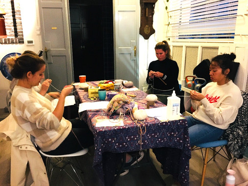 knitting workshop for adults