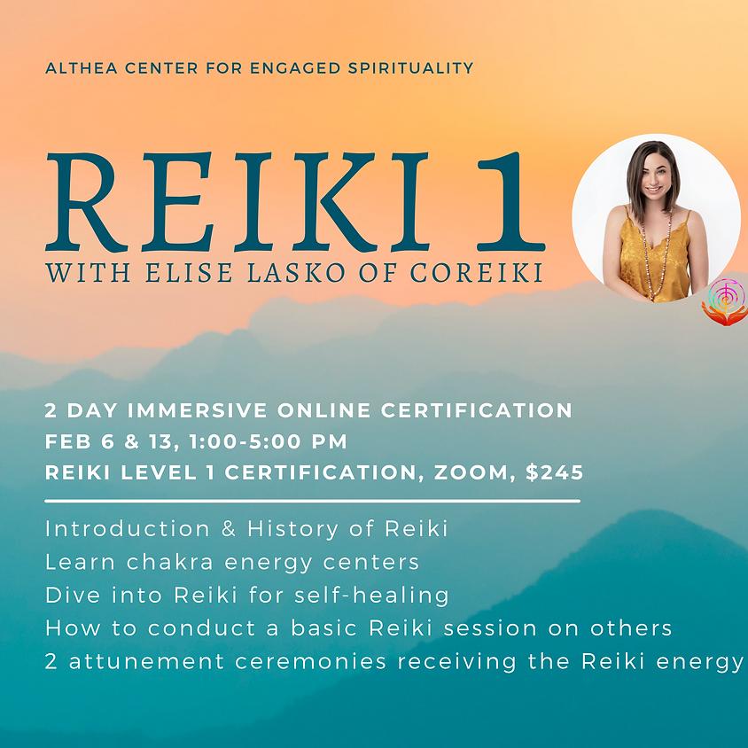 Reiki 1 with Elise Lasko of coReiki