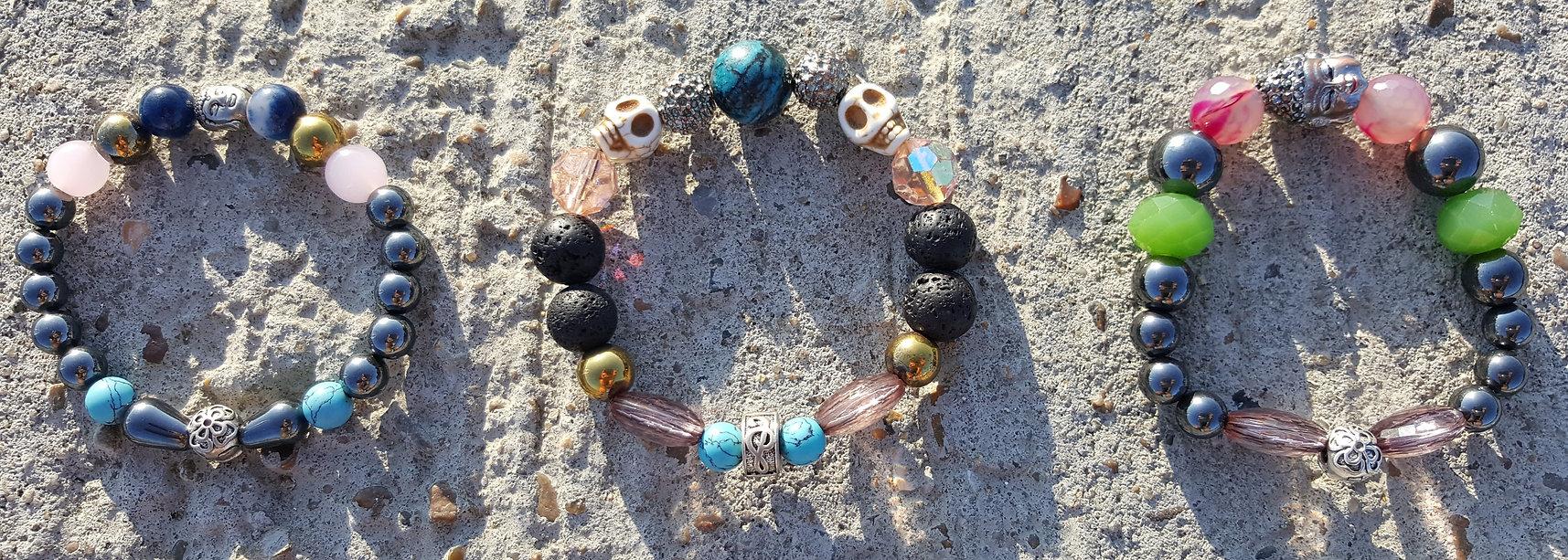 3 bracelet designs from CPH'ATTITUDE Jewelry