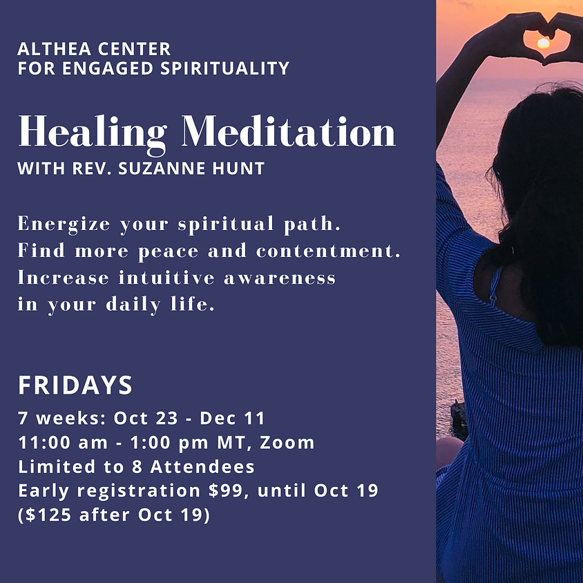 Healing Meditation 1 with Rev Suzanne Hunt