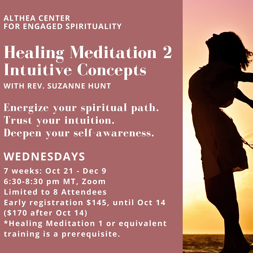 Healing Meditation 2 - Intuitive Concepts with Rev Suzanne Hunt