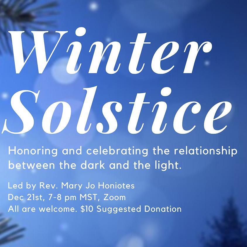 Winter Solstice Celebration with Rev. Mary Jo Honiotes