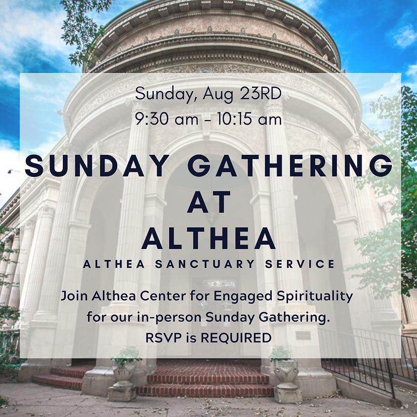 Althea Sunday Gathering Aug 23rd - RSVP