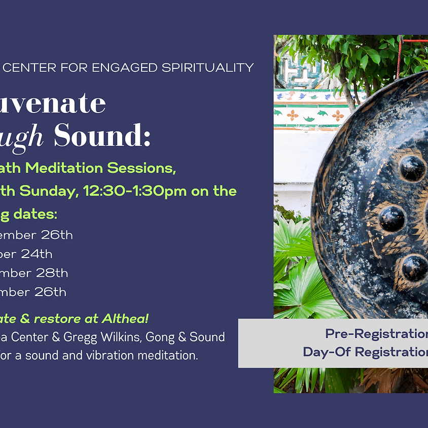 Gong Bath with Gregg Wilkins