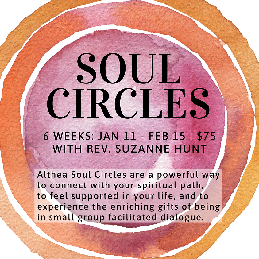 Althea Soul Circle with Rev. Suzanne Hunt