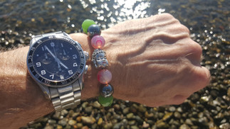 THE OPEN MIND on the wrist