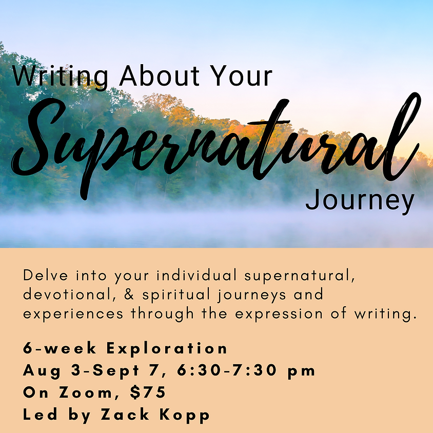 Writing About Your Supernatural Journey