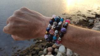 Stacking bracelets