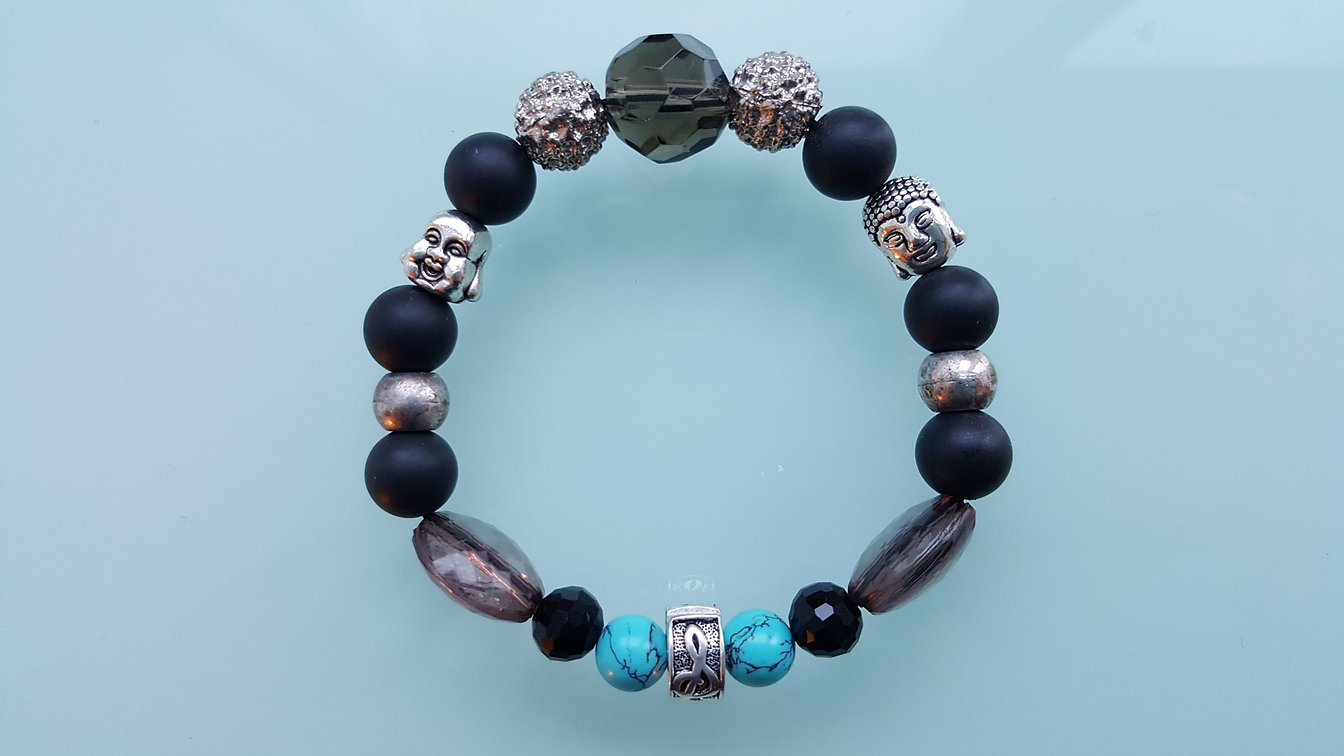 A custom bracelet from CPH'ATTITUDE Jewelry, this design is called IDEA BY SRC