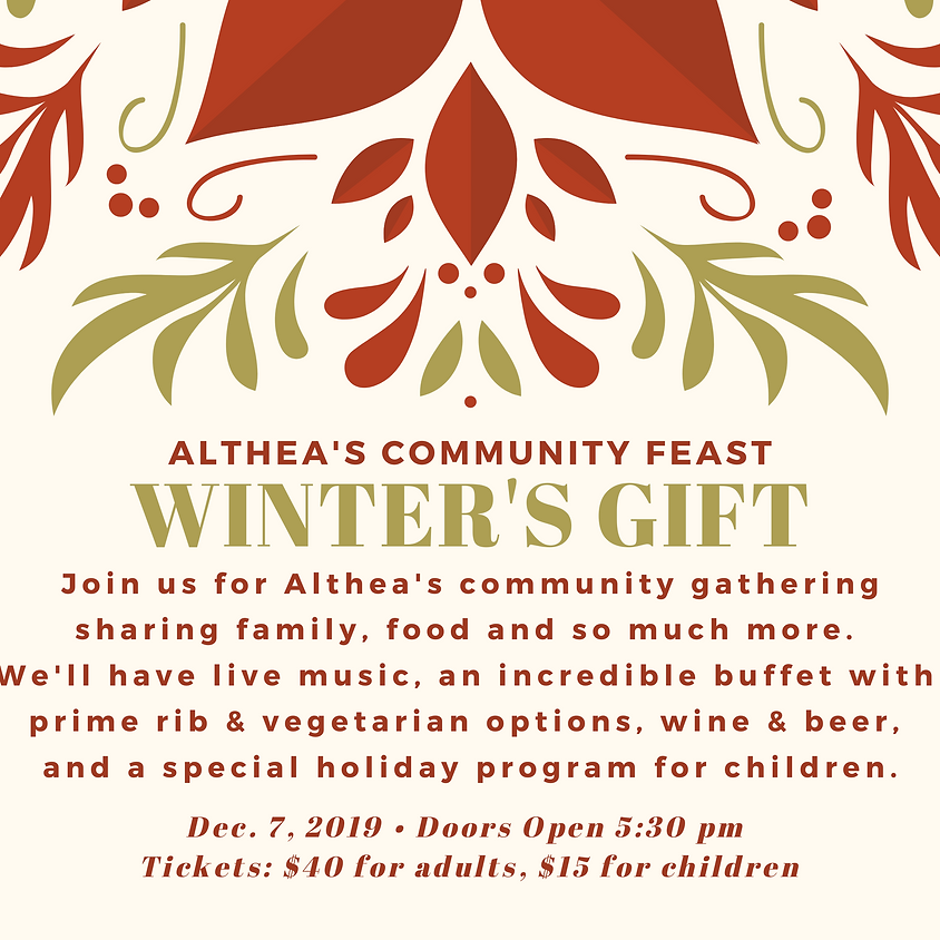 Winter's Gift - Althea's Holiday Fundraiser