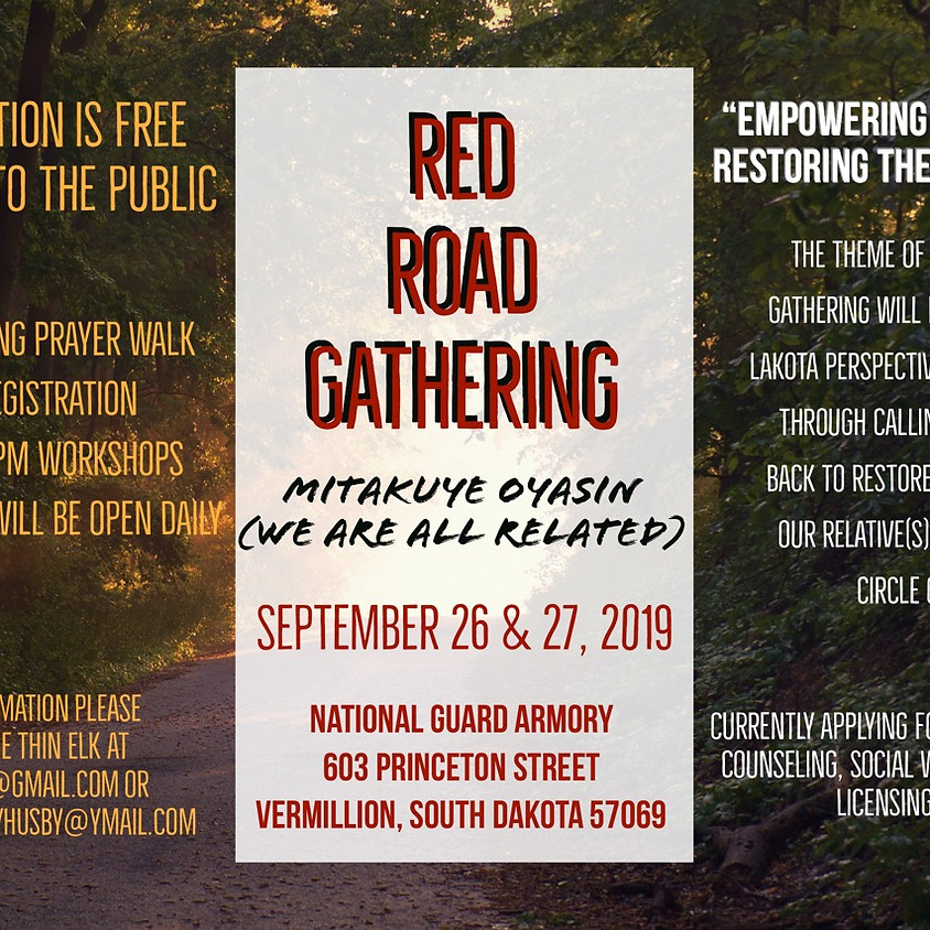 Red Road Gathering