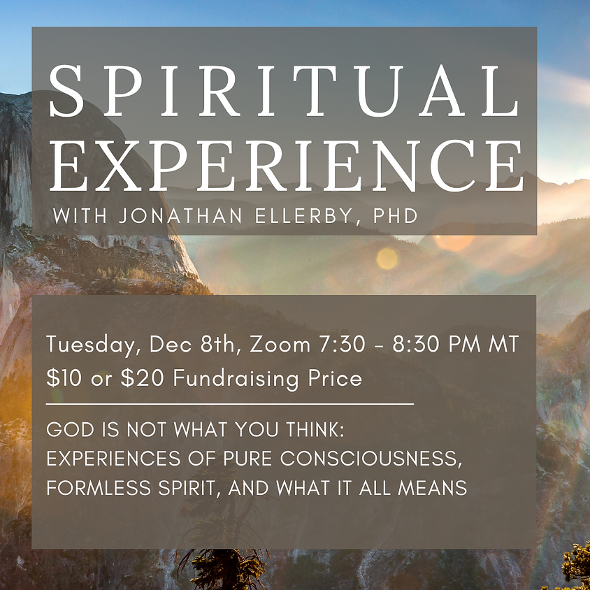 Spiritual Experience - God Is Not What You Think