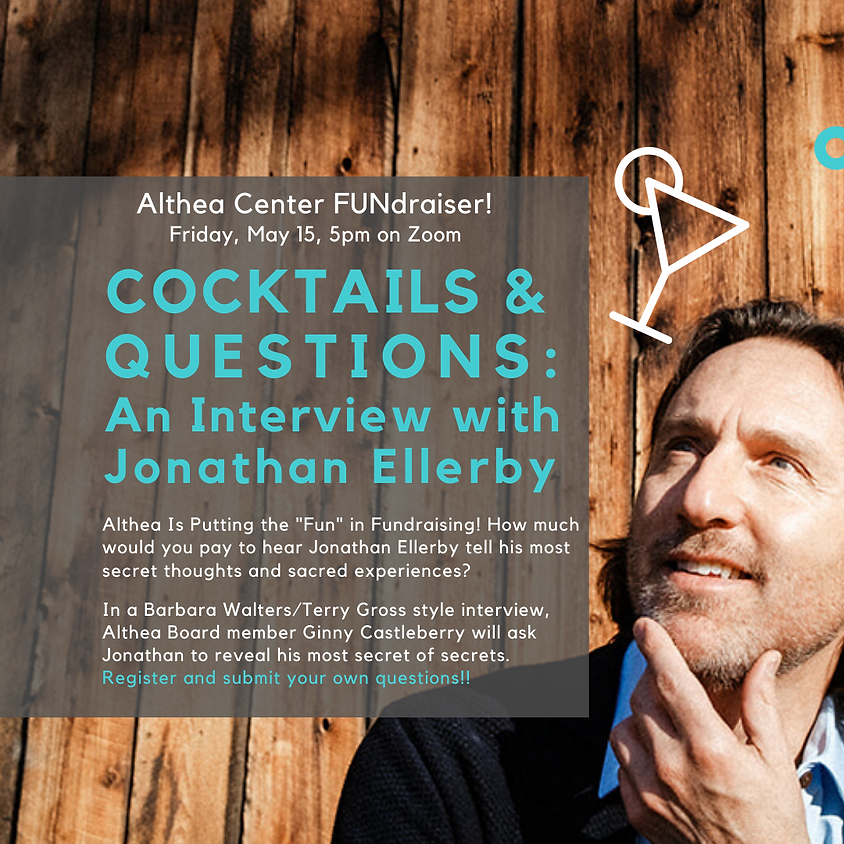 Cocktails and Questions:  An Intimate Interview with Jonathan Ellerby