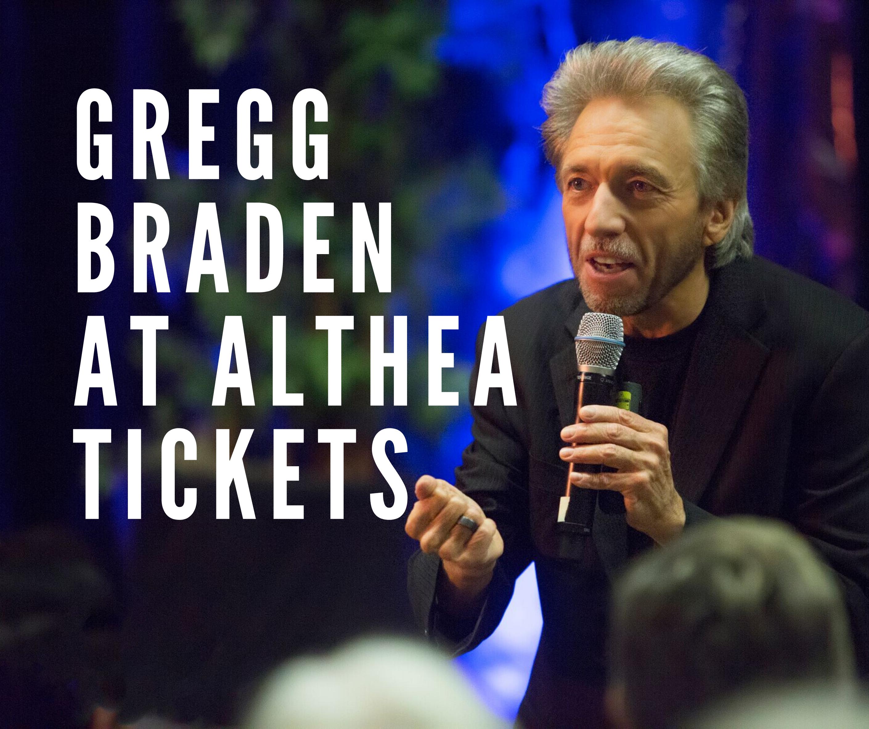 Gregg Braden at ALTHEA